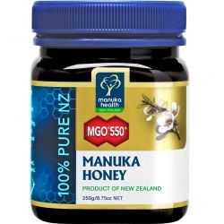 Manuka Health MGO 550+ Pure Manuka Honey 250g