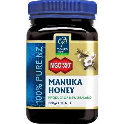Manuka Health MGO 550+ Pure Manuka Honey 500g