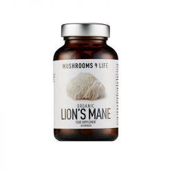 Mushrooms4Life Organic Lion's Mane Caps 60