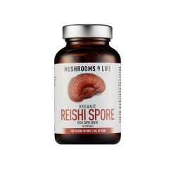 Mushrooms4Life Organic Reishi Spore Caps 60