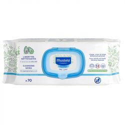 Mustela Cleansing Wipes 70