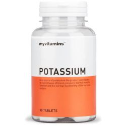 Myvitamins Potassium Tablets 90