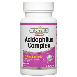 Nature's Aid Acidophilus Complex 5 Billion Capsules 60