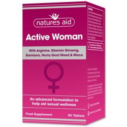 Nature's Aid Active Woman Tablets 60