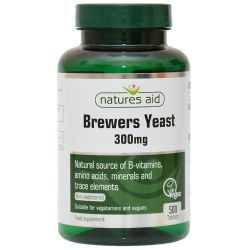 Nature's Aid Brewers Yeast 300mg Tablets 500