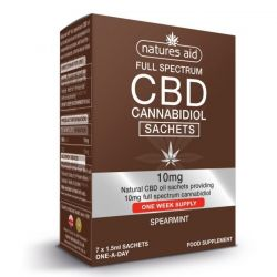 Nature's Aid CBD Oil One-a-day Sachets 7