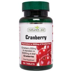 Nature's Aid Cranberry 200mg Tablets 90