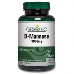 Nature's Aid D-Mannose 1000mg Tablets 60