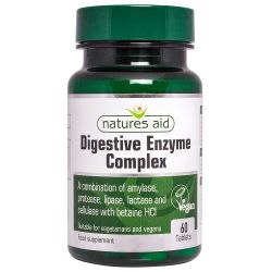 Nature's Aid Digestive Enzyme Complex (with Betaine HCI) Tablets 60