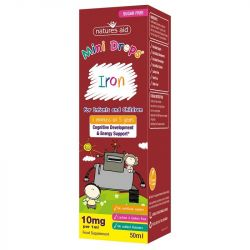 Nature's Aid Iron Mini Drops for Infants & Children 50ml