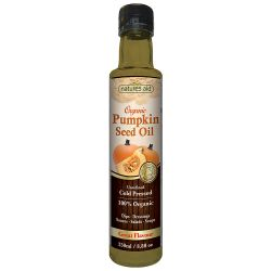 Nature's Aid Organic Pumpkin Seed Oil 250ml
