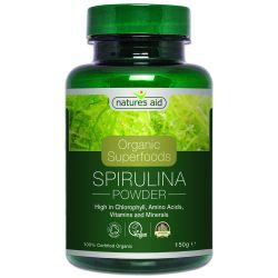 Nature's Aid Organic Spirulina Powder 150g
