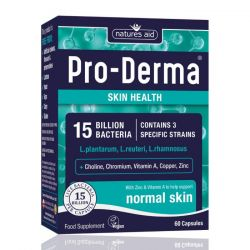 Nature's Aid Pro-Derma (15 Billion Bacteria) Vegicaps 60