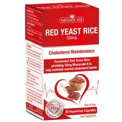 Nature's Aid Red Yeast Rice 333mg Capsules 30