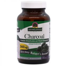 Nature's Answer Charcoal Caps 90