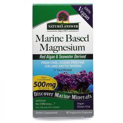 Nature's Answer Marine Based Magnesium 500mg Caps 90