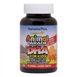 Nature's Plus Animal Parade DHA Chewables 90