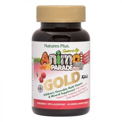 Nature's Plus Animal Parade Gold Chewable Multi Cherry Flavour 60