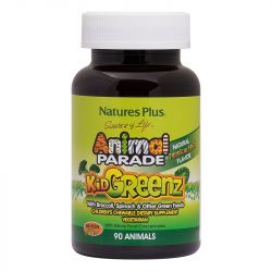 Nature's Plus Animal Parade Kidgreenz Chewables 90