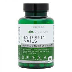 Nature's Plus BioAdvanced Hair, Skin & Nails Caps 60