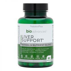 Nature's Plus Bioadvanced Liver Support Caps 60