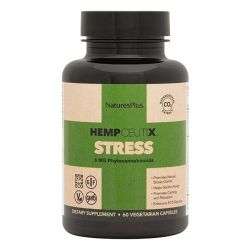 Nature's Plus Hempceutix Stress Vegicaps 60