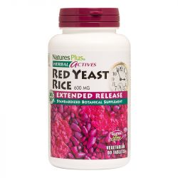 Nature's Plus Herbal Actives Extended Release Red Yeast Rice 600mg Tabs 60