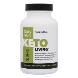 Nature's Plus KetoLiving Daily Multi VCaps 90