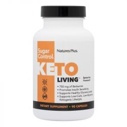 Nature's Plus KetoLiving Sugar Control VCaps 90