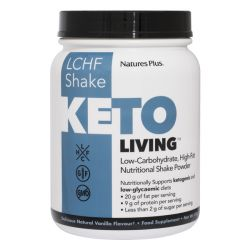 Nature's Plus KetoLiving Vanilla Keto Shake 578g