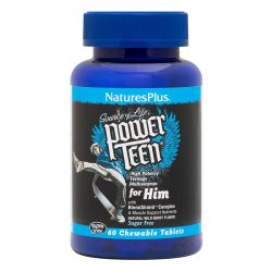 Nature's Plus Power Teen For Him Chewable Tabs 60
