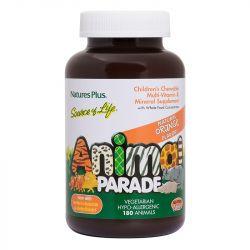 Nature's Plus Source of Life Animal Parade Orange Chewables 180