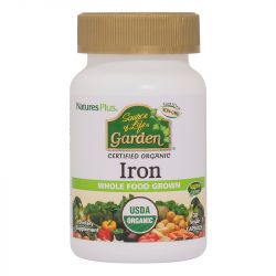 Nature's Plus Source of Life Garden Iron 18mg Vcaps 30