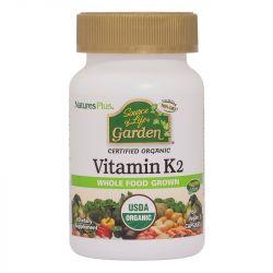 Nature's Plus Source of Life Garden Organic Vitamin K2 120mcg VCaps 60