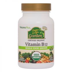 Nature's Plus Source of Life Garden Vitamin B12 1000ug VCaps 60