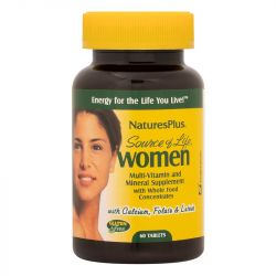 Nature's Plus Source Of Life Women's Multi Tabs 60
