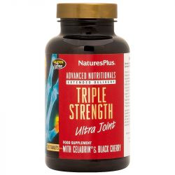 Nature's Plus Triple Strength Ultra Joint Glucosamine/Chondroitin/MSM with Celadrin Tabs 120