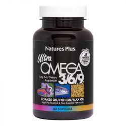 Nature's Plus Ultra Omega 3-6-9 1200mg Softgels 60