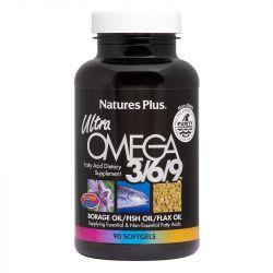 Nature's Plus Ultra Omega 3-6-9 1200mg Softgels 90
