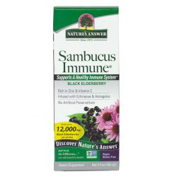 Nature's Answer Sambucus Immune Defence 120ml