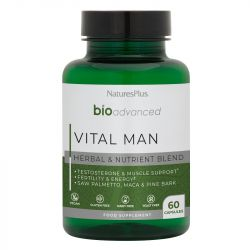 Nature's Plus BioAdvanced Vital Man Capsules 60
