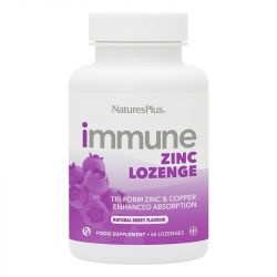 Nature's Plus Immune Zinc Lozenges 60