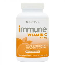 Nature's Plus Vitamin C 500mg Chewable Tablets 60