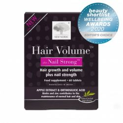 New Nordic Hair Volume Plus Nail Strong Tablets 60