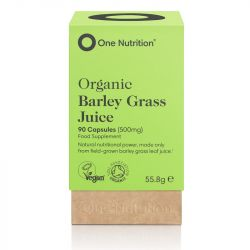 One Nutrition Barley Grass 500mg Capsules 90