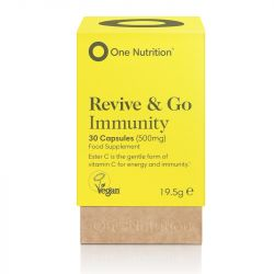 One Nutrition Revive & Go Immunity Caps 30