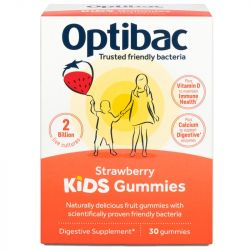 Optibac Stawberry Kids Gummies 30