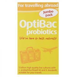 Optibac For Travelling Abroad Capsules 60