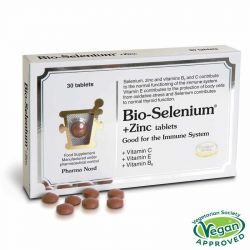 Pharmanord Bio-Selenium + Zinc (+Vit C, E and B6) Tabs 90