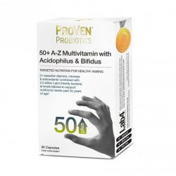 ProVen Probiotics 50+ A-Z Multivitamins & Bifidus Capsules 30